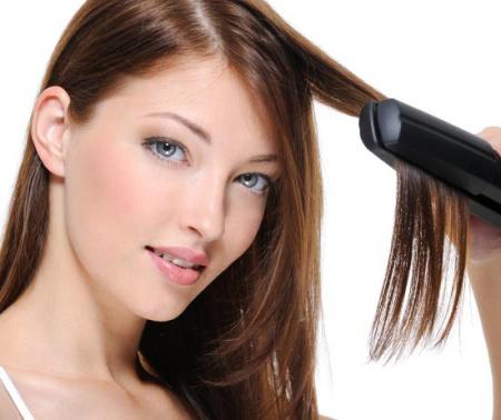 Как укладывать волосы утюжком?