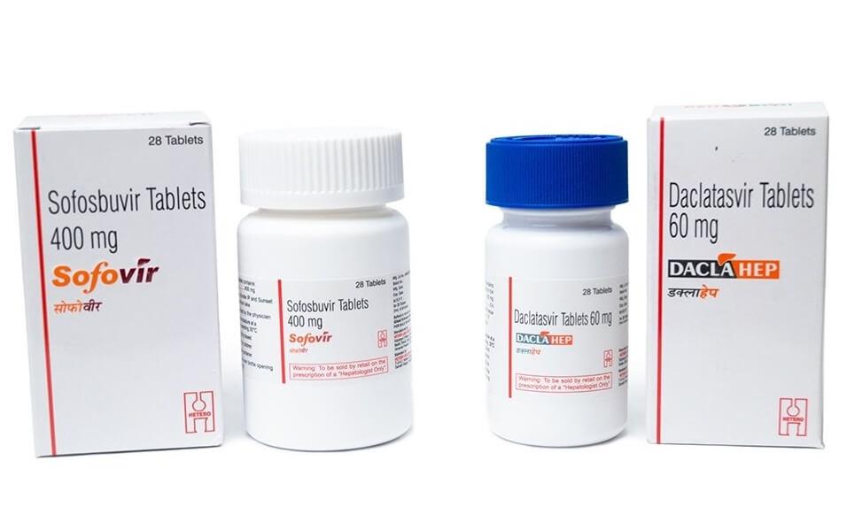 Препараты Софосбувир и Даклатасвир по выгодной цене