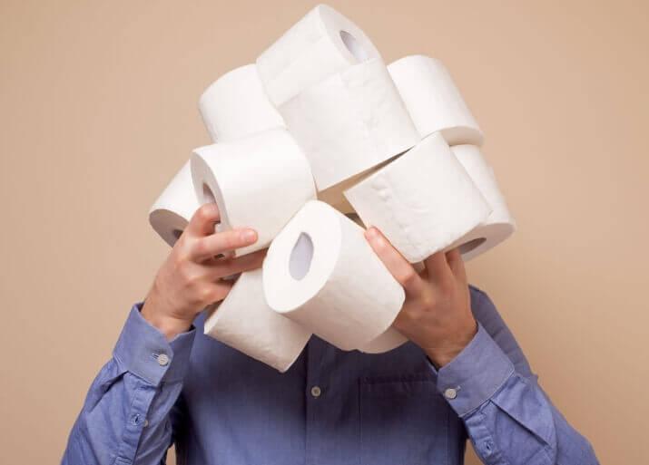 зачем люди скупают бумагу туалетную и гречку