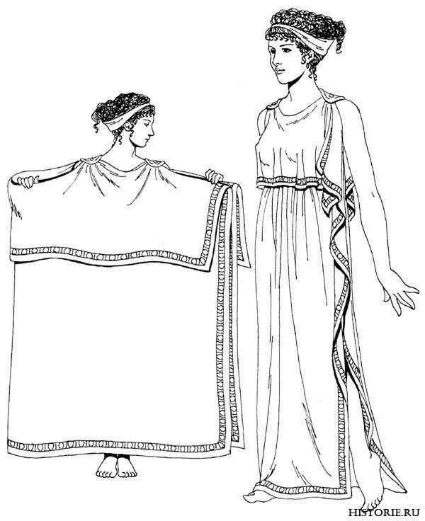 Женская одежда в доисторические времена