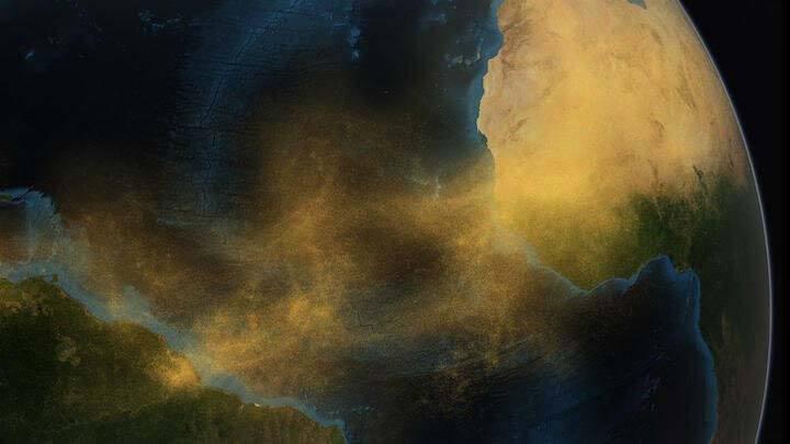Хмара пилу сахарской